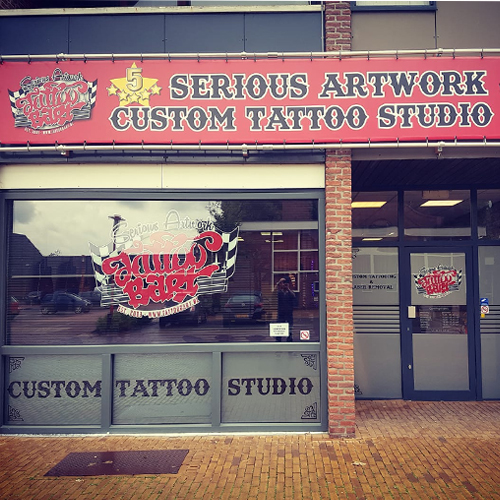 Tattoo Bart studio pand